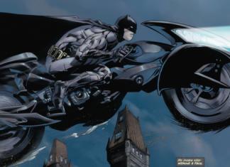 Liga de la Justicia Batman Batmoto