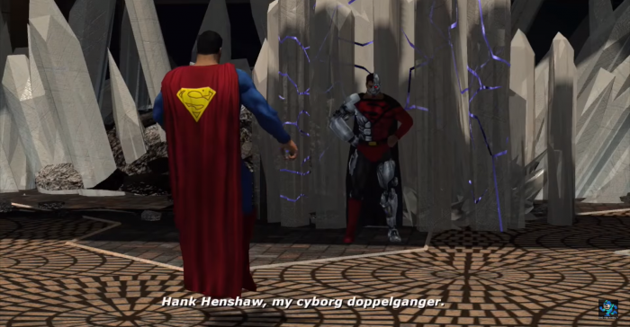 Liga de la Justicia Double Helix