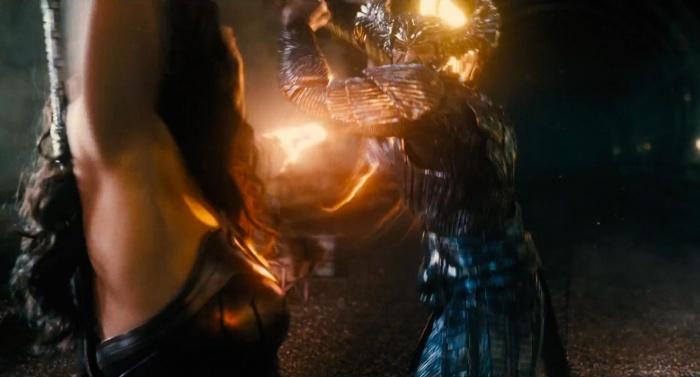 Liga de la Justicia - Steppenwolf vs Wonder Woman
