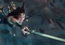 Liga de la Justicia - Wonder Woman espada