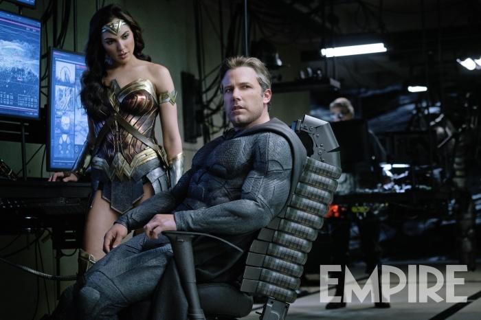 Liga de la Justicia - Wonder Woman y Batman