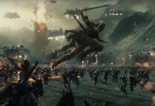 Liga de la Justicia - batalla amazonas