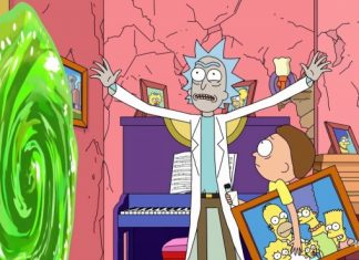Los Simpson Rick y Morty