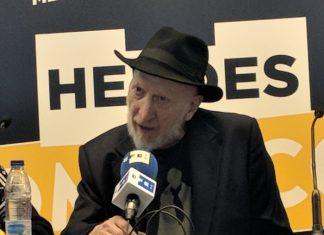 rueda de prensa de Frank Miller en la Heroes Comic Con