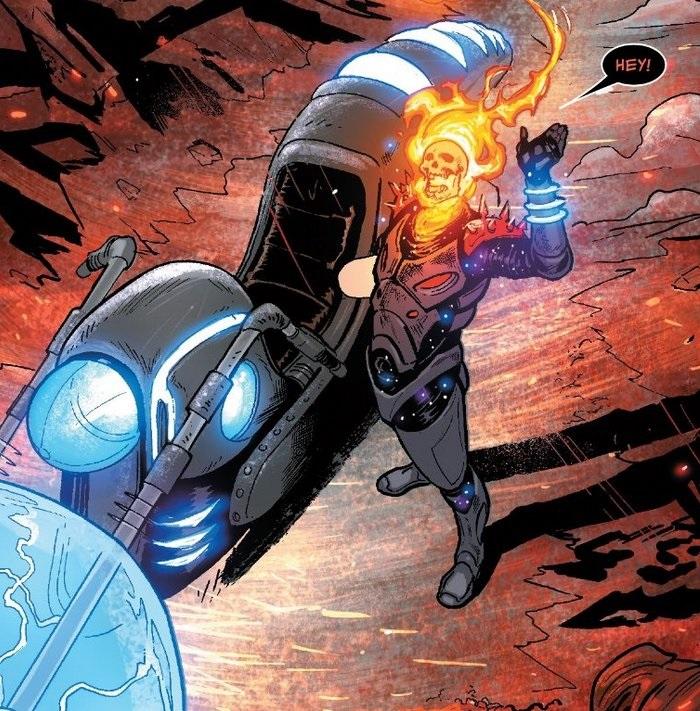 Marvel Motorista Fantasma Cósmico (1)