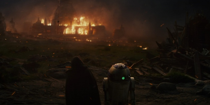Star Wars Los últimos Jedi Luke Skywalker