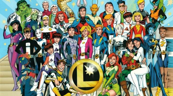 Supergirl Legión de Superhéroes