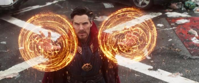 Vengadores Infinity War - tráiler 1 - Doctor Strange