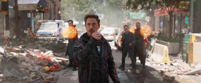 Vengadores Infinity War - tráiler 1 - Iron Man, Doctor Strange, Hulk y Wong