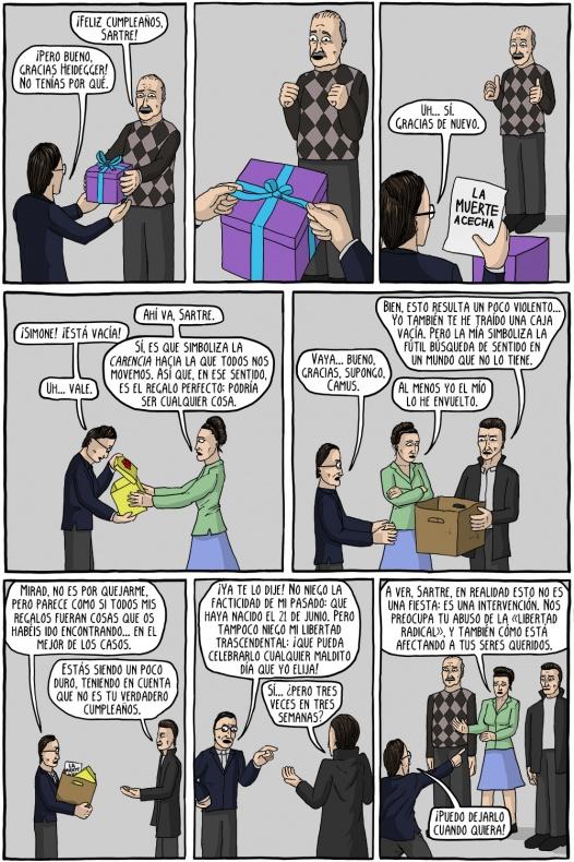 comics existenciales