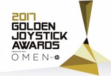 golden joystick awards 2017