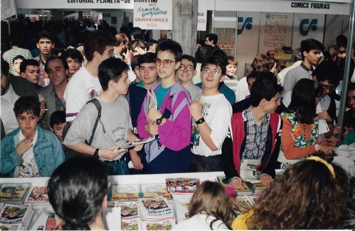 salon comic barcelona 1992