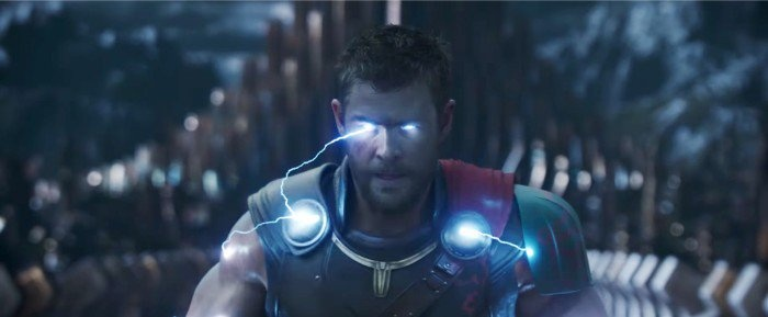 Thor: Ragnarok - chispas