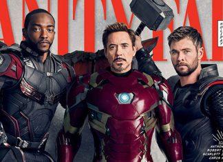 vanity fair - Thor - Iron Man - Falcon