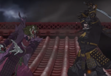 batman ninja batalla