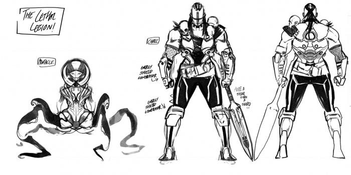 Avengers No Surrender Legión Letal 4