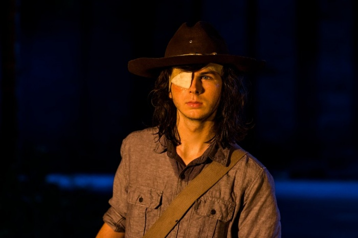 Carl Dead Walking Dead