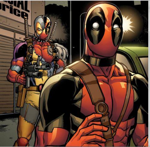 Clonepool Spider Man Deadpool