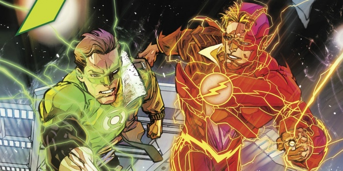 Flash y Green Lantern