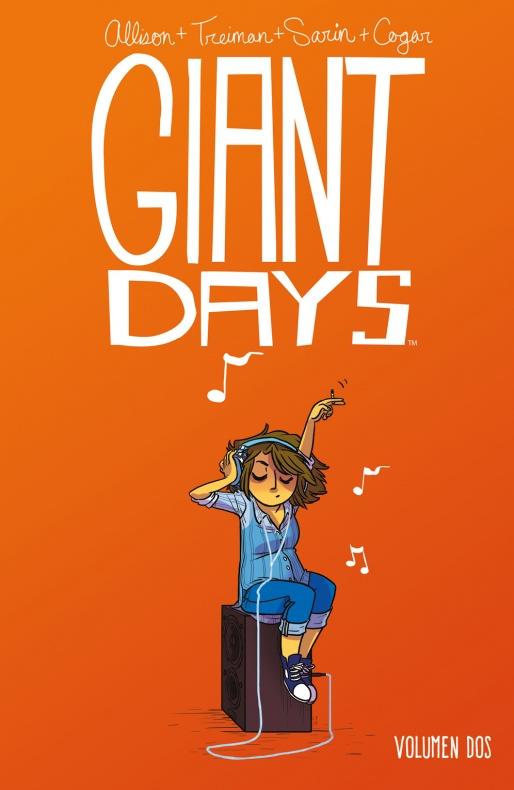 Giant Days 2 - Portada