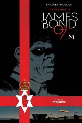 James Bond M (5)