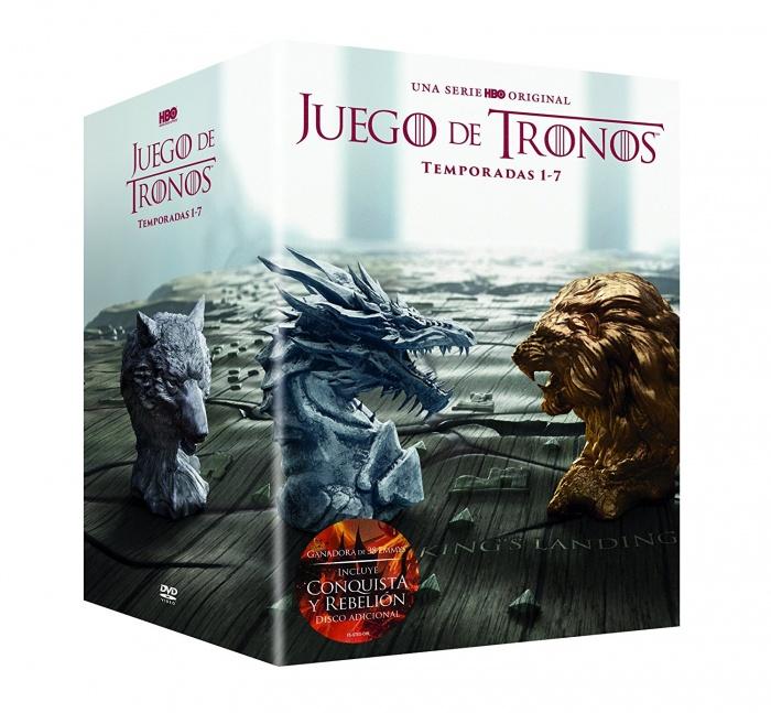Juego de Tronos - Pack DVD temporadas 1-7 (las mejores series para regalar)