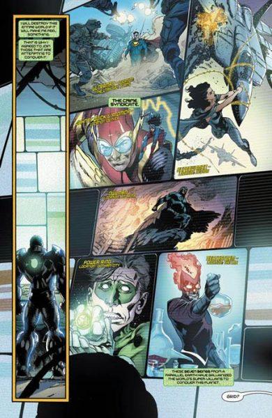 Liga Justicia Heroes eternos