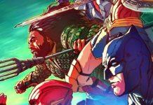 Liga de la Justicia Batman Aquaman