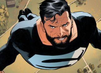 Liga de la Justicia Superman Traje Negro