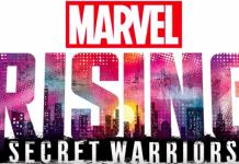 Marvel Rising Secret Warriors logo