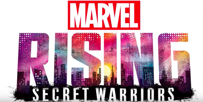 Marvel Rising Secret Warriors logo