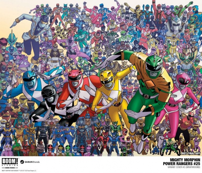 Mighty Morphin Power Rangers #25 (2)