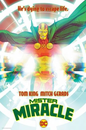 Mr. Miracle 1 portada