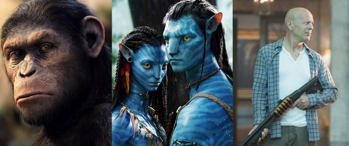 Planet of the Apes - Avatar - Die Hard