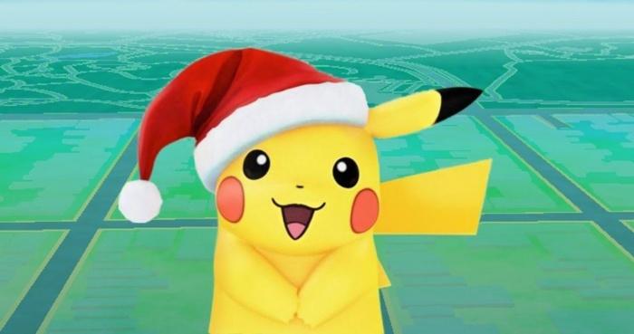 Pokémon GO Evento navideño