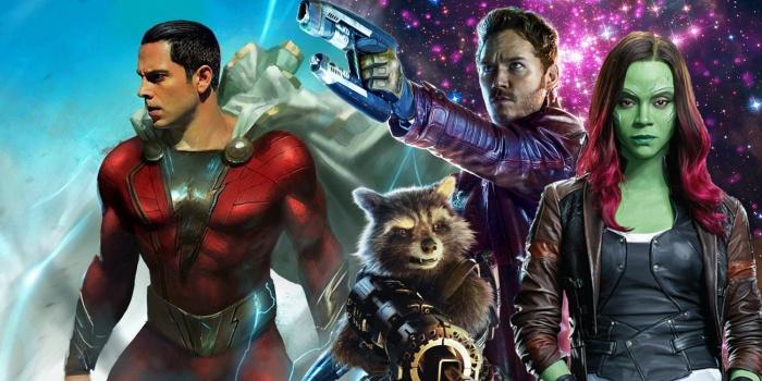Shazam! Guardianes de la galaxia