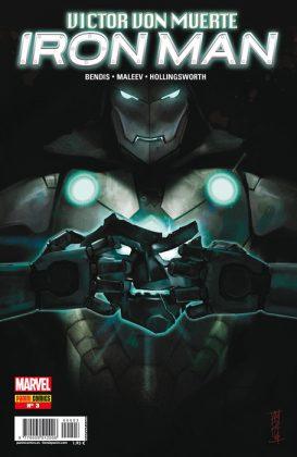 Victor Von Muerte Iron Man portada