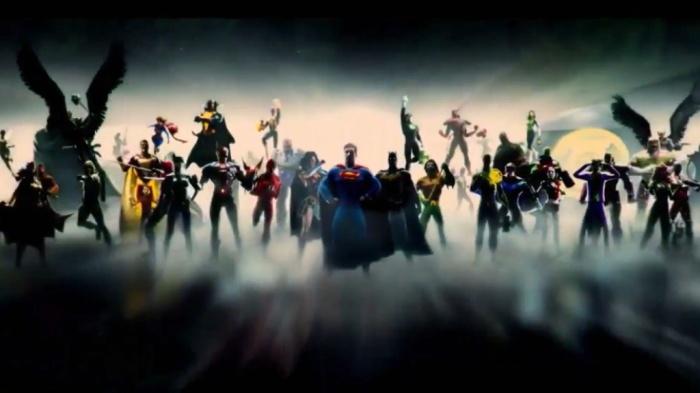 Warner Bros. DCEU intro animada