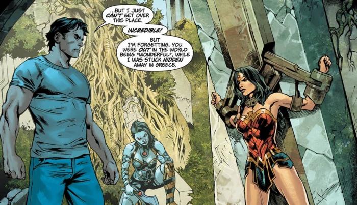 Wonder Woman Jason y Grail