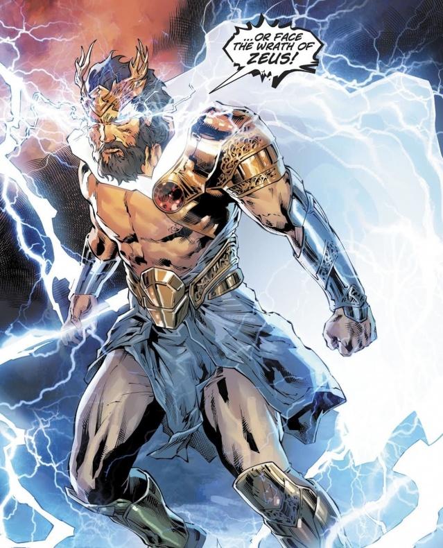 Zeus Wonder Woman
