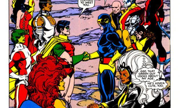 crossovers de Marvel y DC
