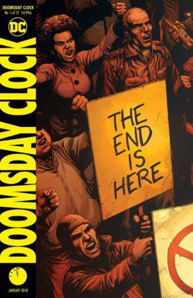 doomsday clock 1 portada
