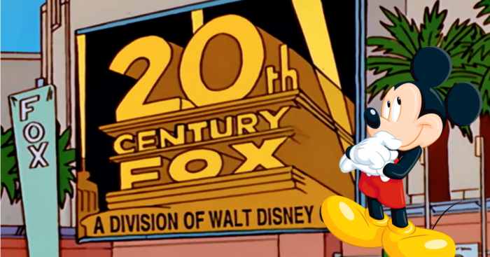 Fox - Disney - Simpsons