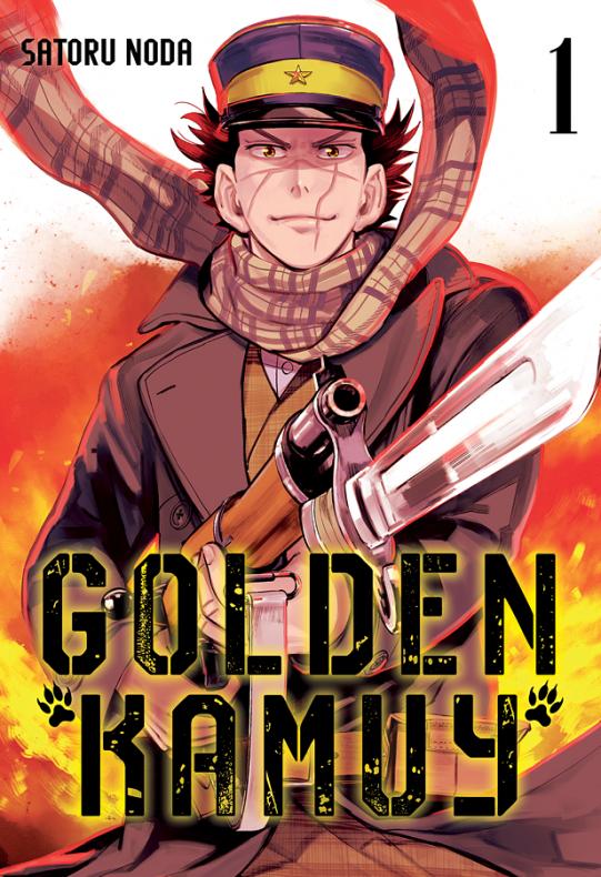 golden kamuy portada