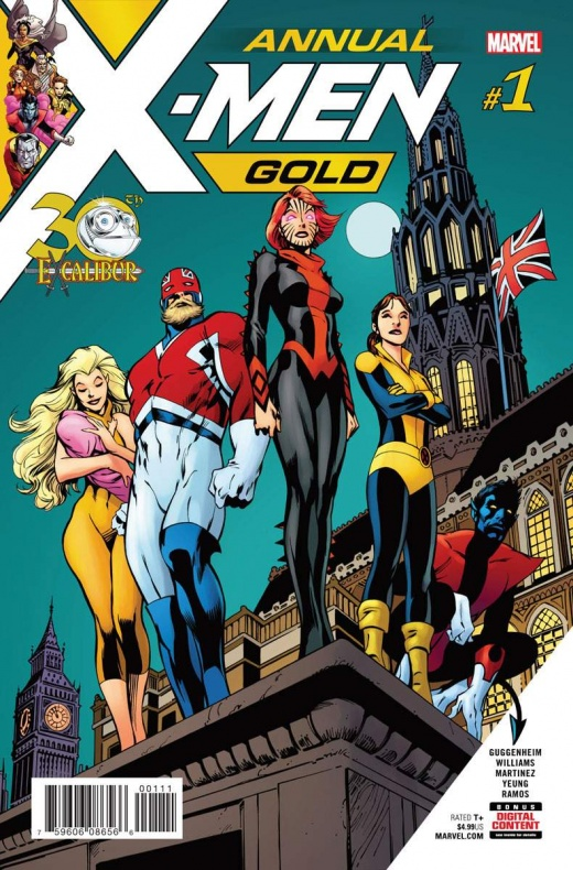 X Men Gold Annual' 1