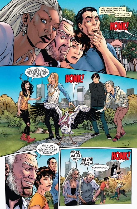X Men Gold Annual' 4