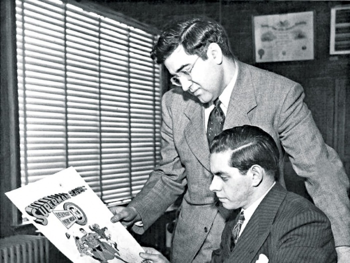 Jerry Siegel Joe Shuster