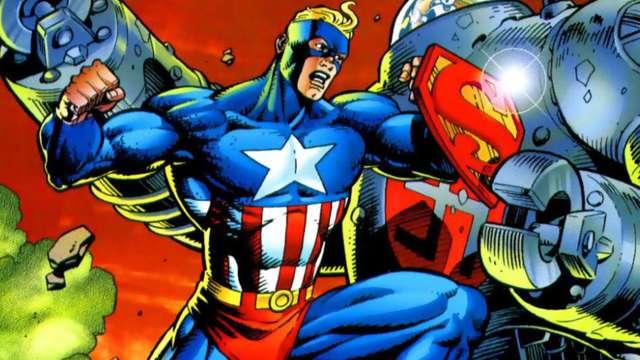 Superman Capitán América