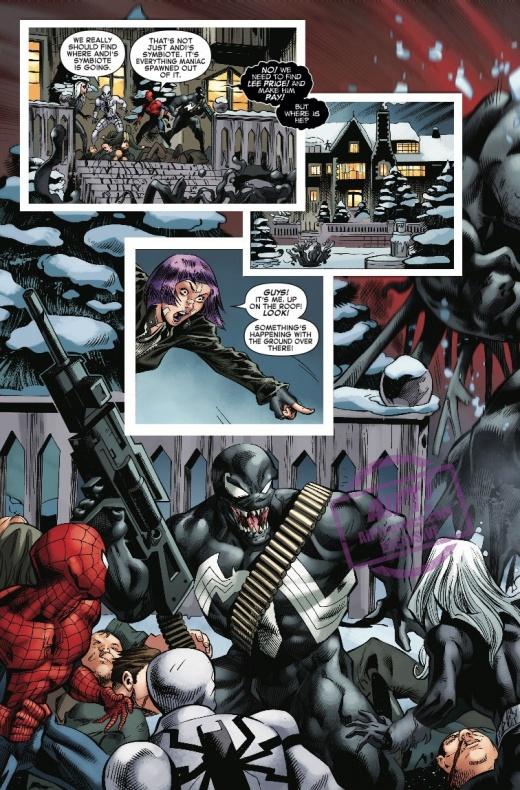 Amazing Spider Man Venom Inc. Omega 3