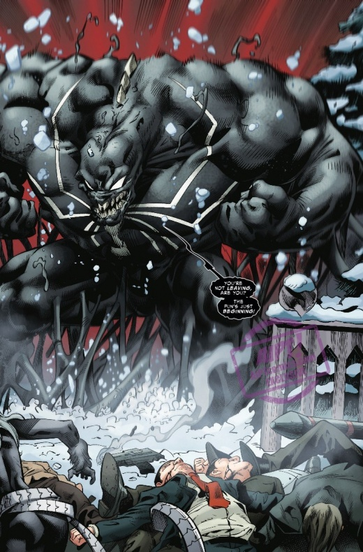 Amazing Spider Man Venom Inc. Omega 4